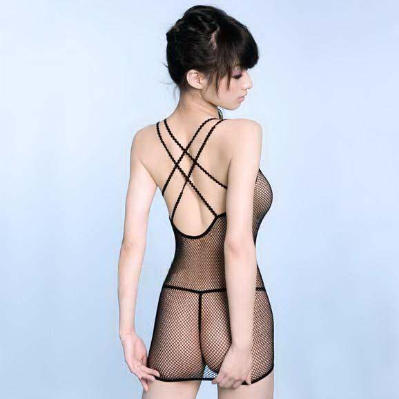 Back Cross Type~Sexy Body Stocking One Suit 11422