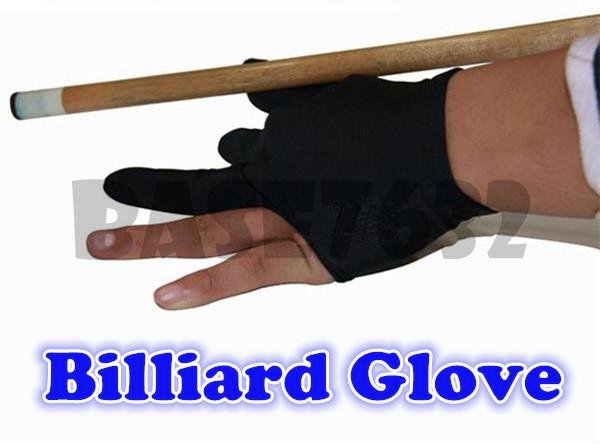 Cue NEW  Snooker Pool Shooters Billiard 9-ball Glove Black