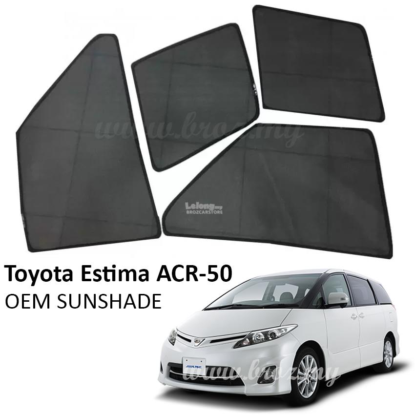 Custom Fit OEM Sunshades/ Sun shades for Toyota Estima ACR-50 (6PCS)