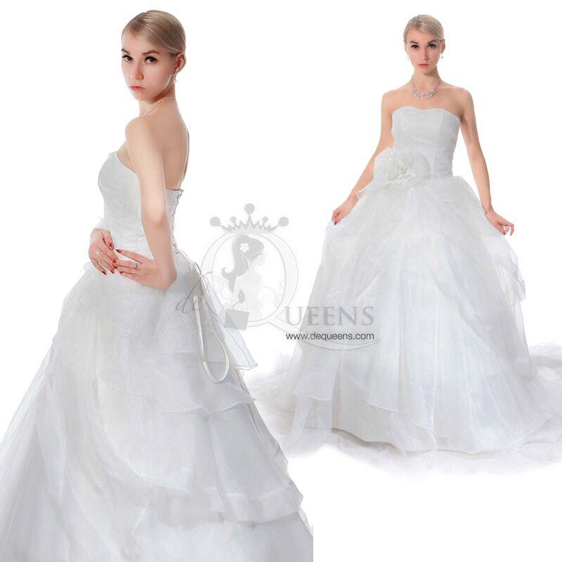 Custome-made Wedding Gown - CWGL00006