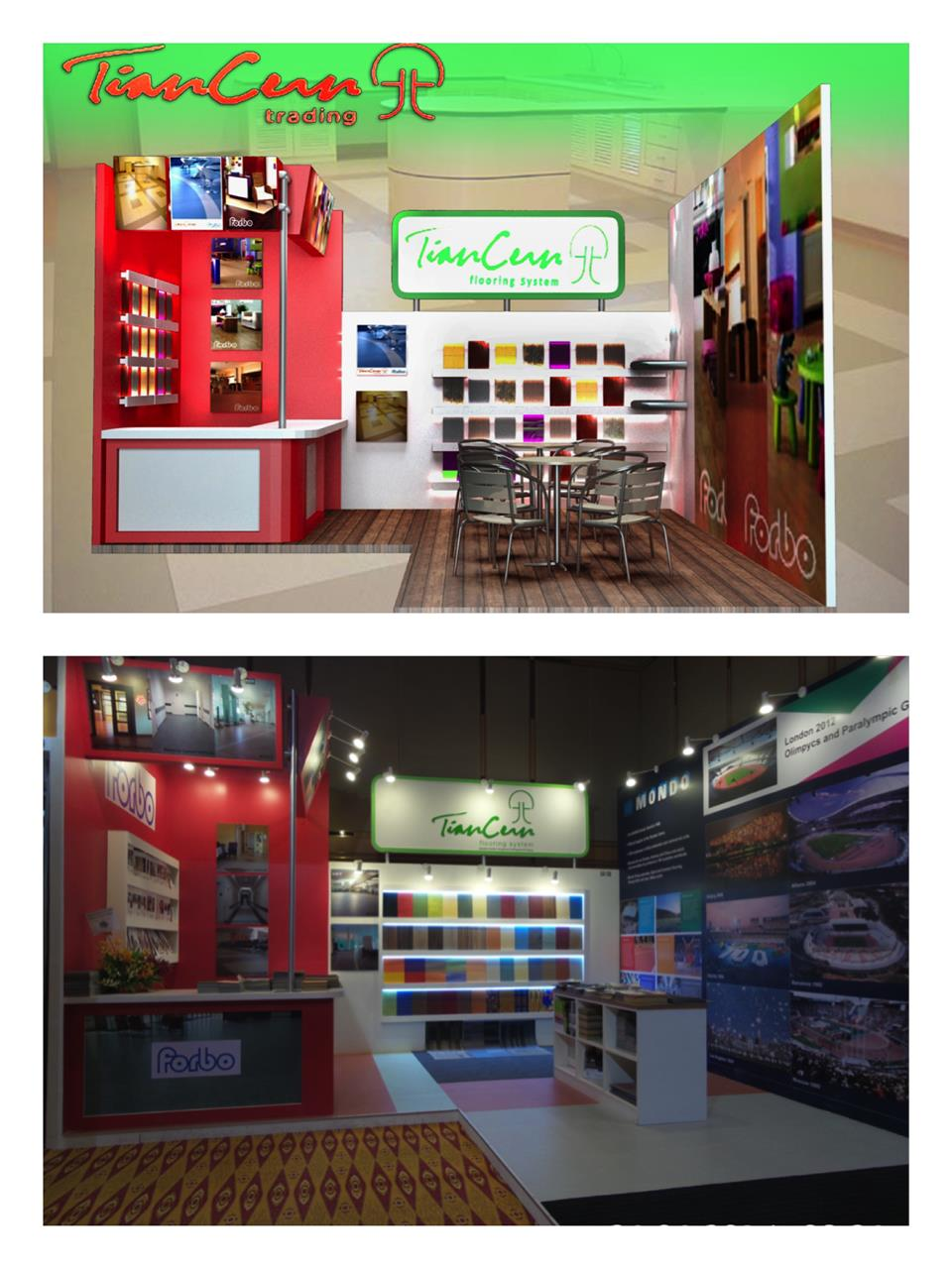 Customized Carpentry booth/Exhibition booth