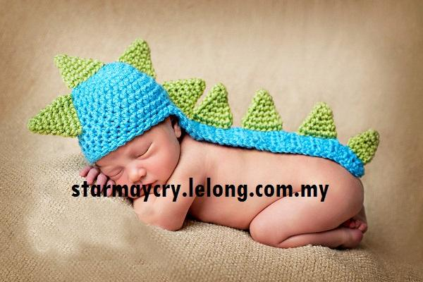 Cute Baby Infant Dinasour Newborn Costume Photo Photography