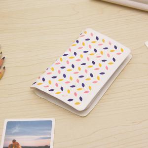 Cute Color Petal 12 pcs Card Holder