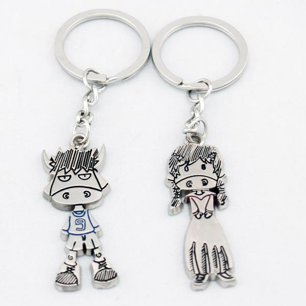 Cute Cows Lover Couple Key Chain Keychain K75