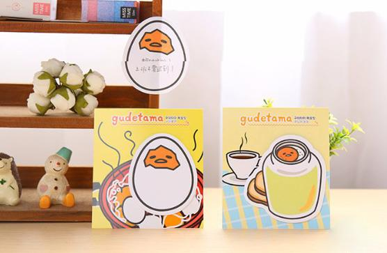 Cute Egg Sticker Memo Pad (1 Set)