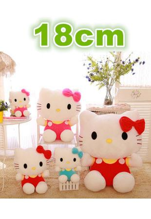 Cute Hello Kitty Plush Toys (18cm)