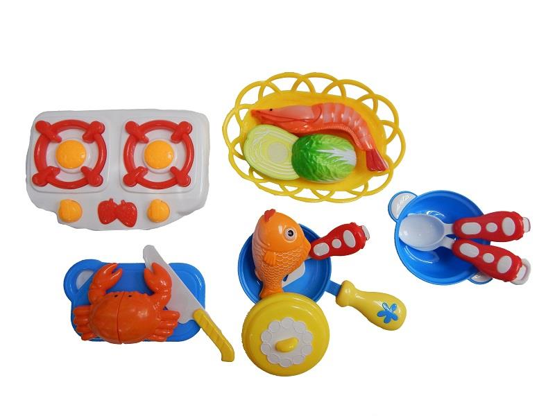 Cutting Seafood Playset (For Ages 3 Years +)