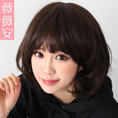 cutty short hair wig XI 1/ ready stock/ rambut palsu