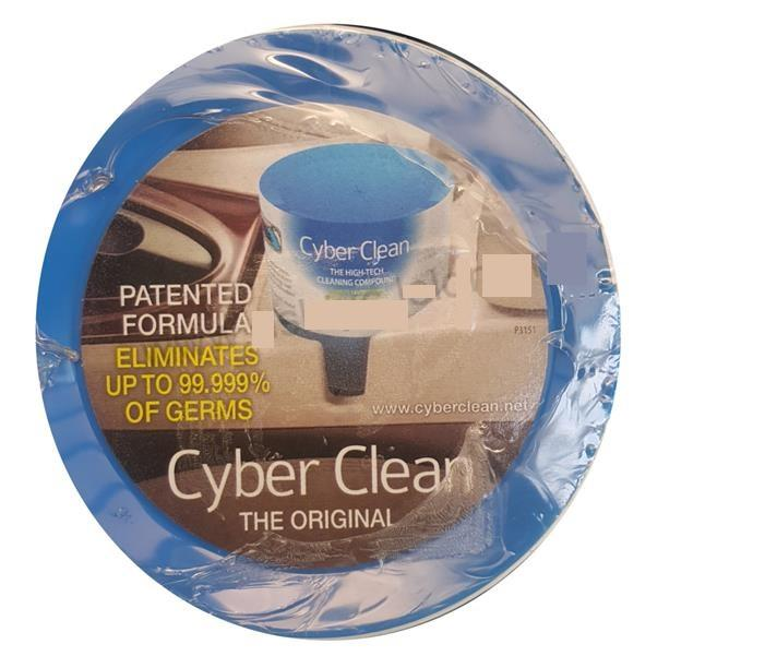 CYBERCLEAN CLEANING COMPOUND 160G BLUE FOR CAR