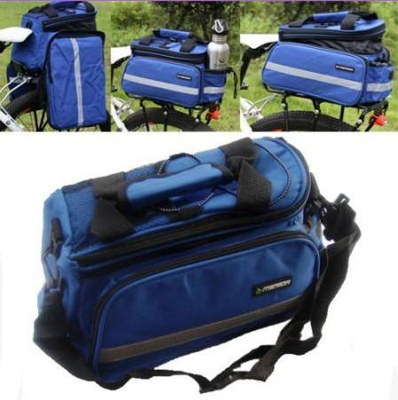 Cycling Bike Travel Bicycle Rear Seat Pannier Bag Pouch