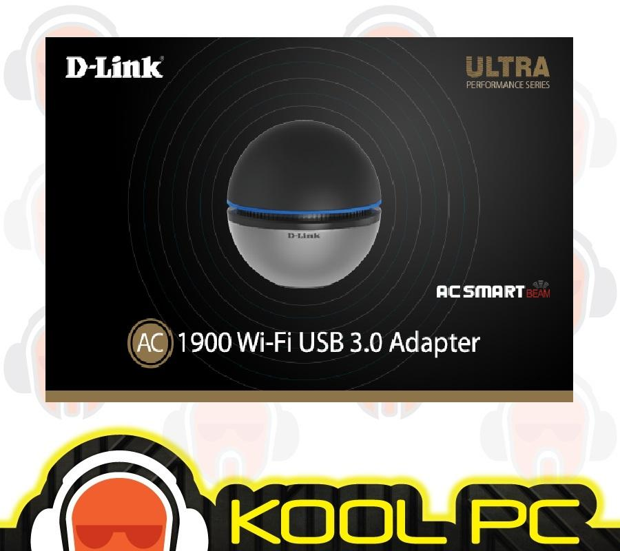 D-link DWA-192 Wireless AC 1900Mbps Dual-Band USB 3.0 Adapter