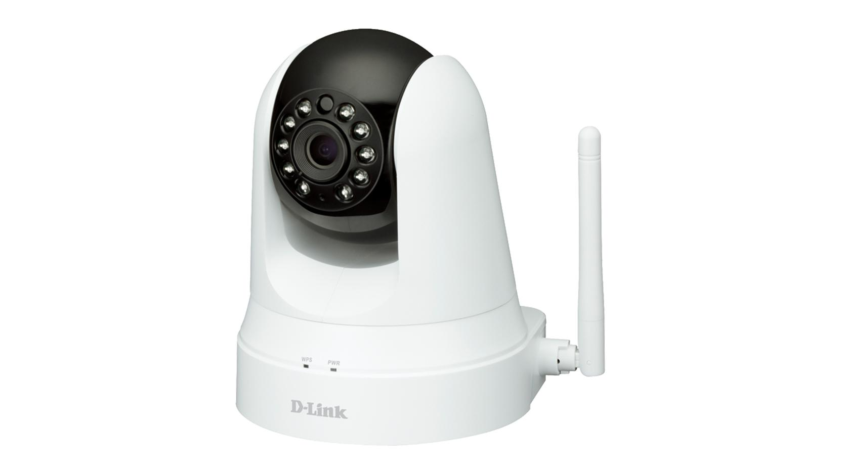 D-LINK WIRELESS N PAN & TILT WITH IR/EXTENDER (DCS-5020L) IP CAMERA