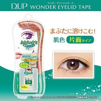 D.U.P Wonder Eyelid Tape (144pcs) (Double Eyelid Tape)