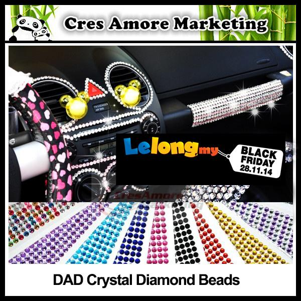 DAD Crystal diamond beads DIY Design Rhinestone 6mm