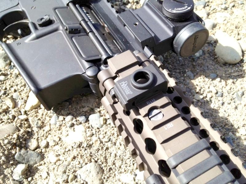 DANIEL DEFENSE RAIL MOUNT QD SLING ADAPTER
