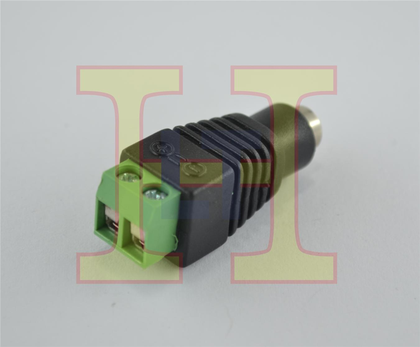 DC JACK (FEMALE) CONNECTOR TYPE
