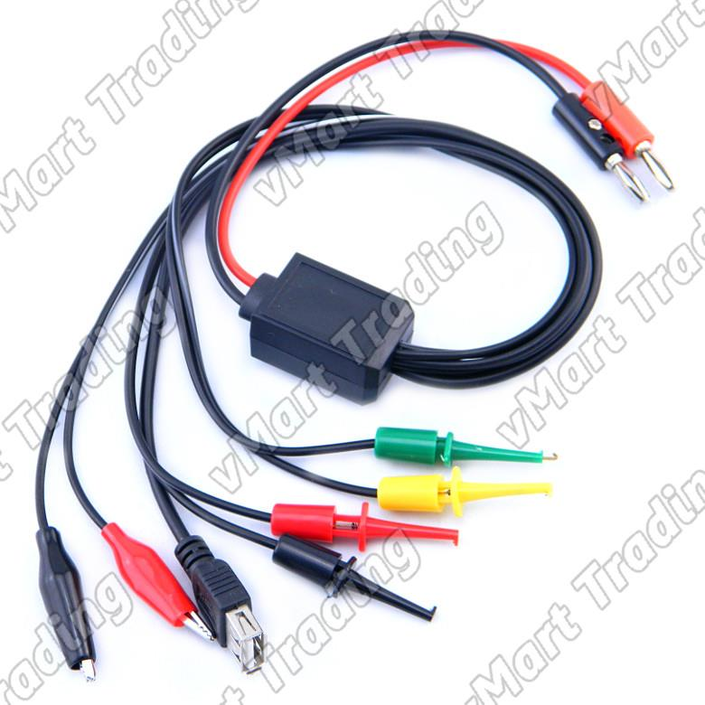 DC Power Supply Cable - Multi Connectors