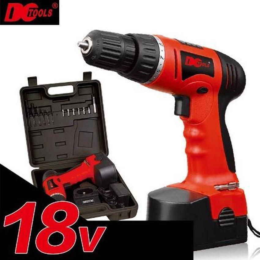 DCTOOLS D010 18V Rechargeable And Cordless Electric Power Tool Drill