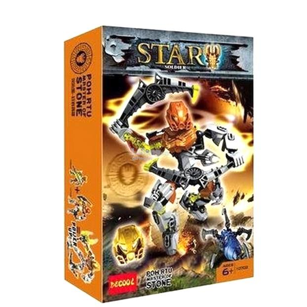 Decool 10702 Bionicle Pohatu Master of Stone