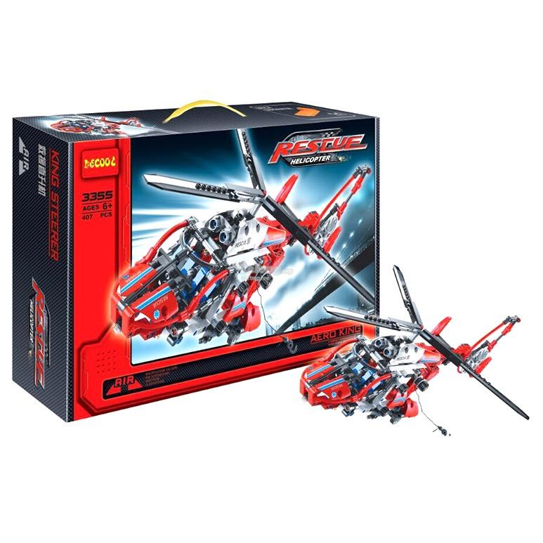 Decool 3355 Technic Series The Rescue Helicopter (407pcs)