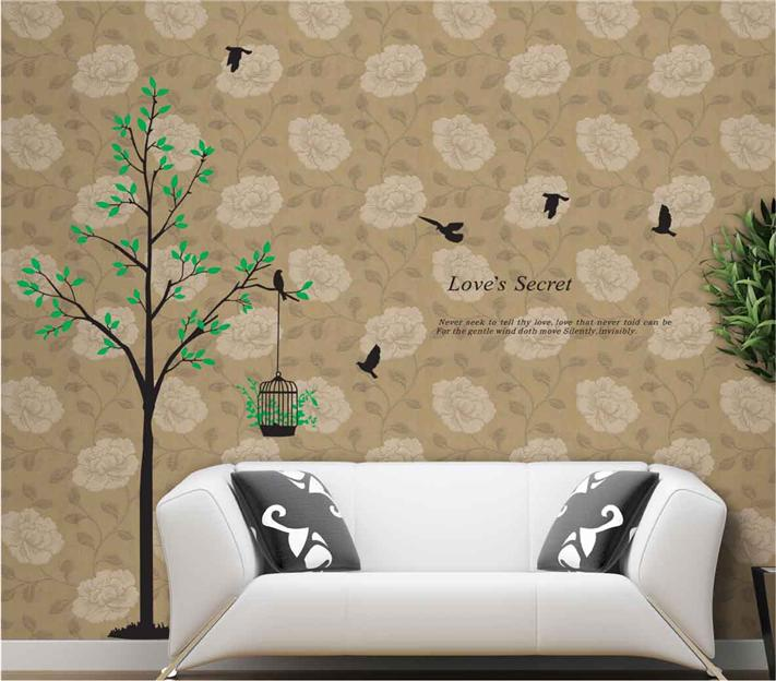 Decorative Wall Stickers AY811 Love's Secret
