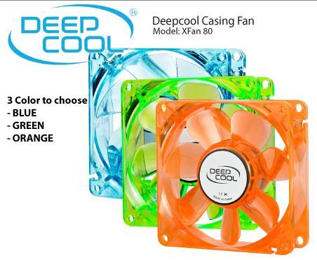 Deepcool Casing Fan - XFAN 80 (Super Silent Fan)