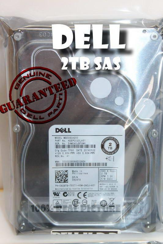 Dell 2TB sas  6Gb/s 7.2K 3.5' Server Harddisk -NEW