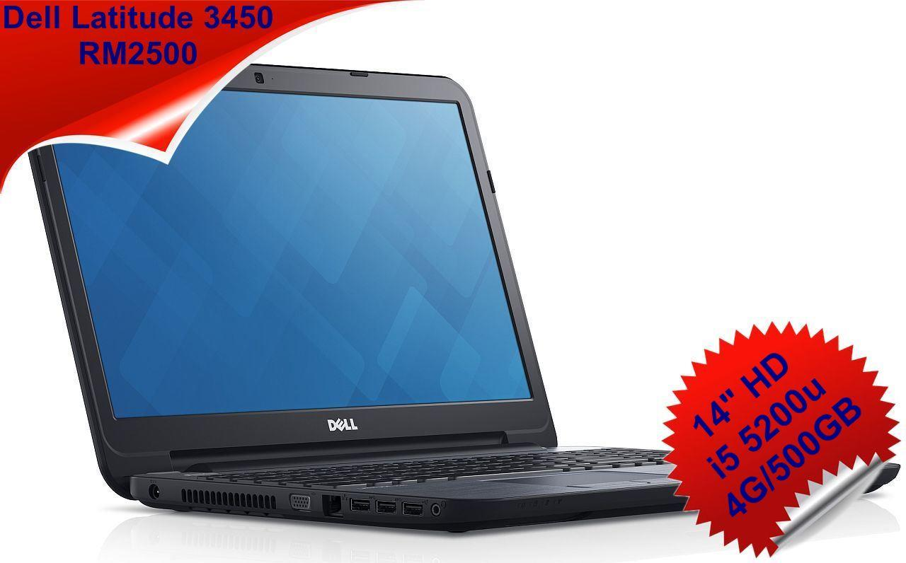 Dell Latitude 3450 14'HD 1366x768 Core i5 2.2GHz