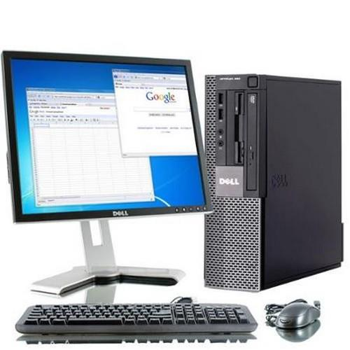 "Dell Opti 960 (SFF) + 17"" Monitor + 1TB Hard Disk"