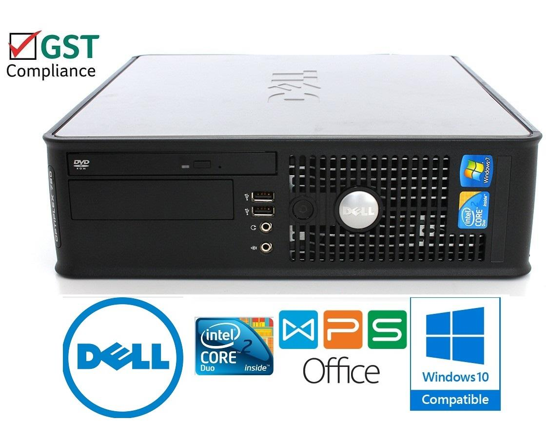 Dell Optiplex 780 Intel Core2Quad 2GB DDR3 250GB Windows 7 Ready
