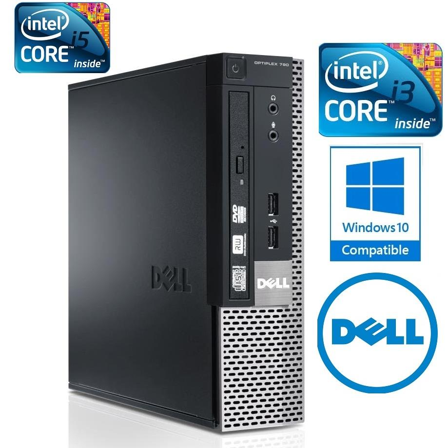 Dell Optiplex 790 SFF Intel Core i5 Gen2 4GB DDR3 500GB Win 10 CPU