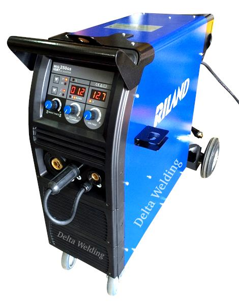 DELTA RILAND 250 MIG IGBT  welding machine - Medium Duty