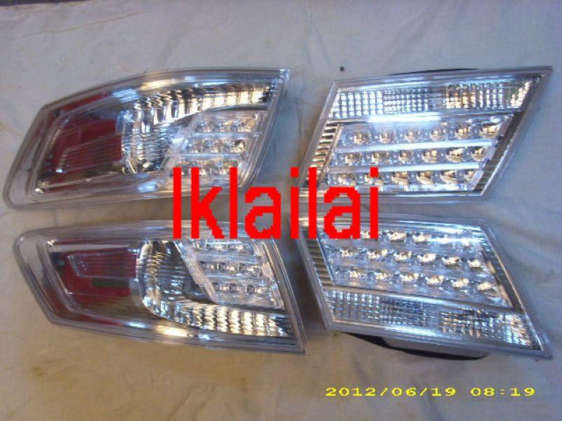 DEPO Honda Odyssey '09 RB3 Tail Lamp Crystal LED Clear [HD41-RL03C-U]
