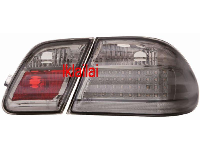DEPO Mercedes Benz E-Class W210 '95-02 Tail Lamp Crystal LED Smoke