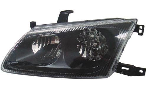 DEPO Nissan Sentra `01 N16 Head Lamp Crystal Black [NS10-HL02-U]