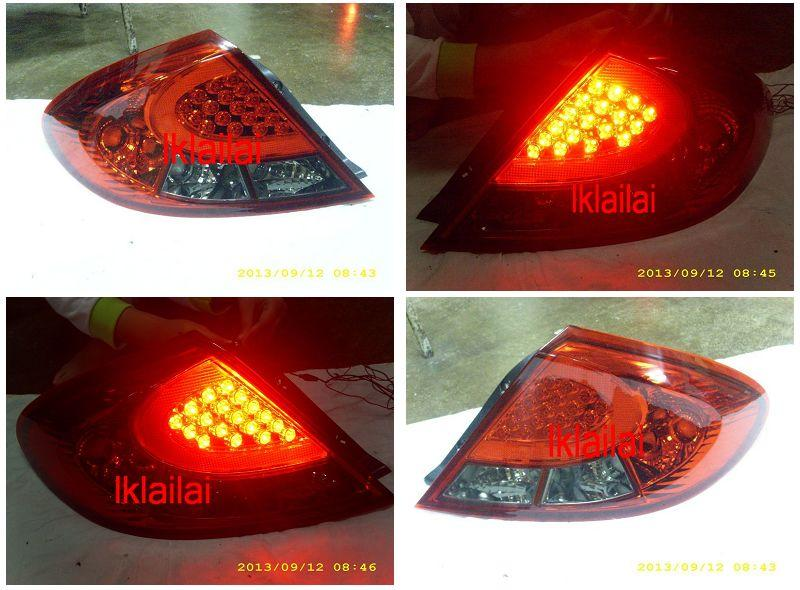 DEPO Proton Gen2/ Persona `05 Tail Lamp Crystal LED Red/Smoke [PT04-RL