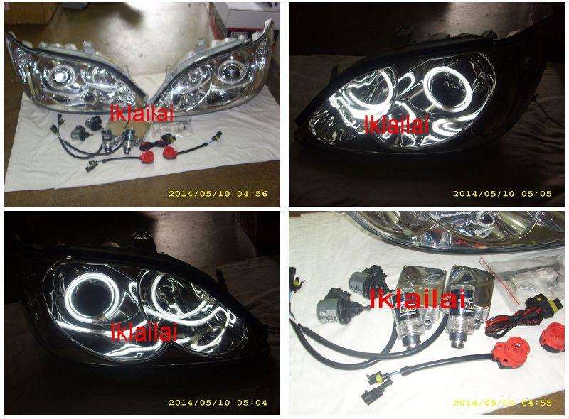 DEPO Toyota CAMRY '04-05 CCFL Projector Head Lamp [HID+Motor]