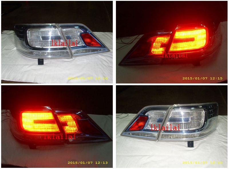 DEPO Toyota Camry `07 ACV40 Tail Lamp Crystal LED Hybrid Look