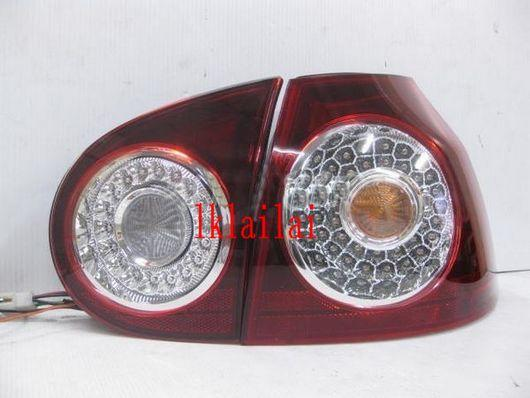 DEPO Volkswagen 05 V Golf  LED Tail Lamp Crystal Red/Smoke
