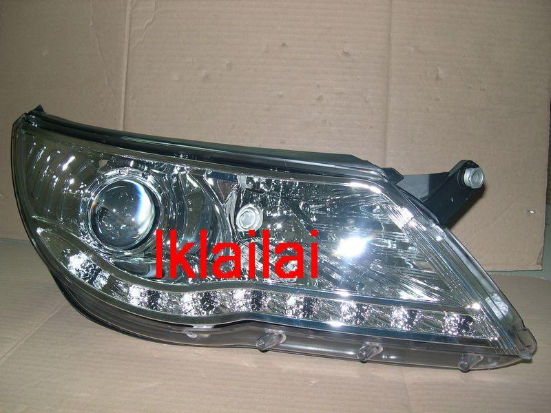 DEPO VOLKSWAGEN TIGUAN '07 Projector Head Lamp LED DRL