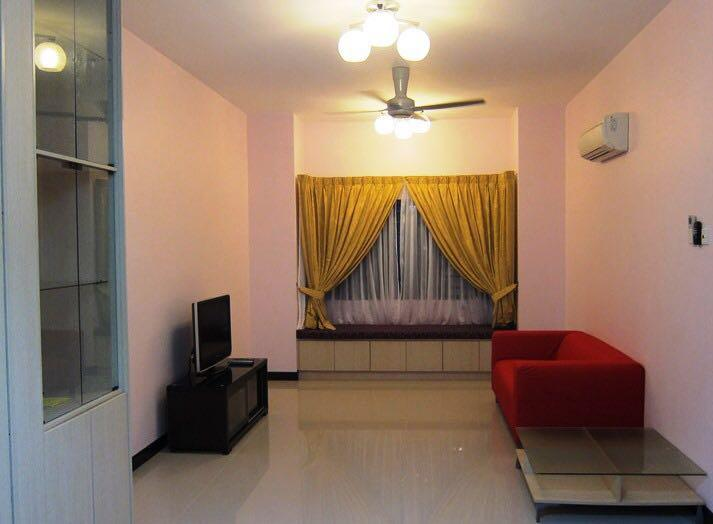 Desa Idaman Apartment for rent, Ground Floor, Corner, Fully Furnished