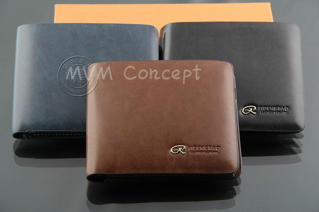 designer coin purse pd1e  Designer Korean Money Clips Coin Purse Men Genuine Leather Wallet