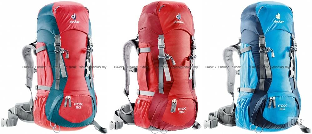 Deuter Fox 30 - 36053 - Fit Kids & Adults - Trekking - Alpine Back