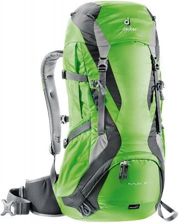 DEUTER FUTURA 32 HIKING BACKPACK - SPRING ANTHRACITE