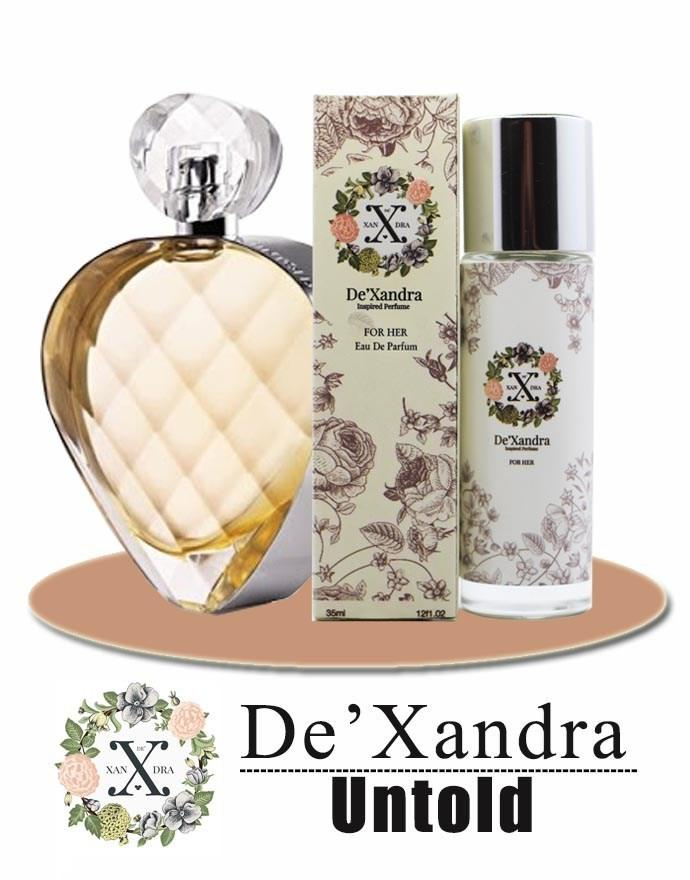 DeXandra EDP Perfume UNTOLD For Her/Women