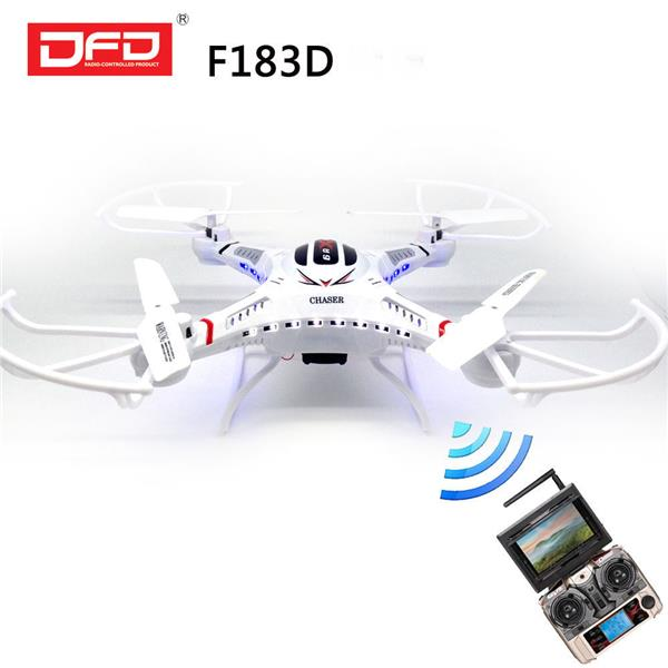 DFD F183D 5.8GHz RC Quadcopter  -  WHITE