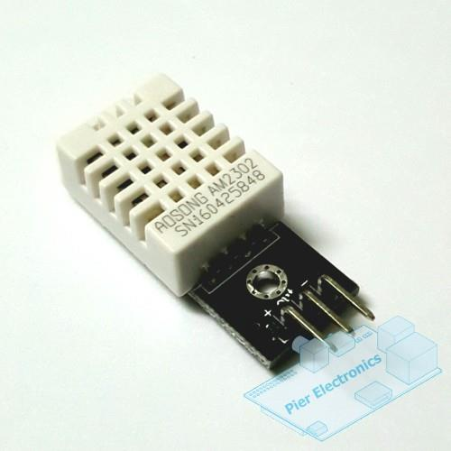 DHT22 Temperature & Humidity Sensor for Arduino & Raspberry Pi