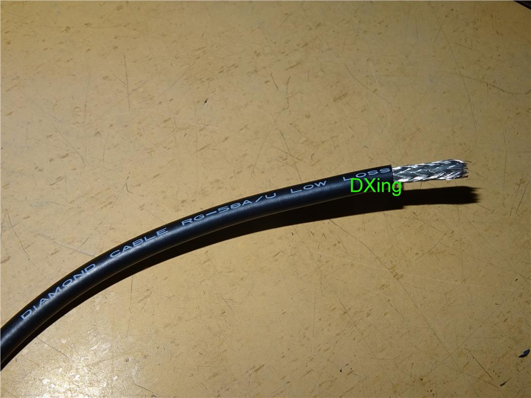 Diamond RG-58/U RG58 Low Loss Super Gainer Cable for yaesu icom