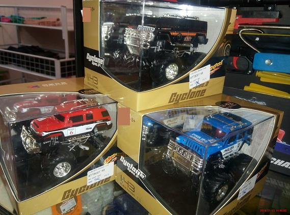 Die Cast Jeep R/C