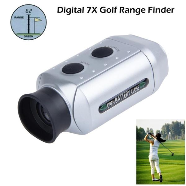 Digital 7x Magnification Golf Range Finder Golf Scope